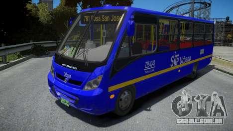 Mercedes-Benz Neobus BUS SITP COLOMBIA para GTA 4