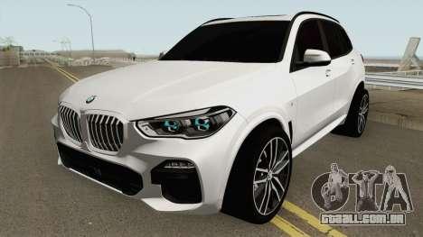 BMW X5 G05 M Sport 2019 para GTA San Andreas
