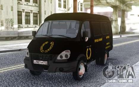 Gazela 32213 Serviços Funerários para GTA San Andreas