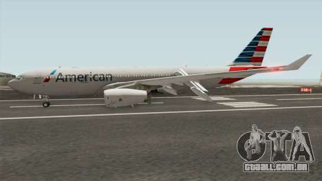 Airbus A330-200 RR Trent 700 (American Airlines) para GTA San Andreas