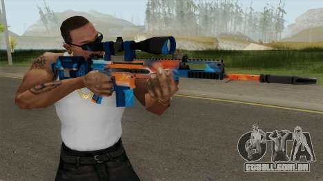 CS-GO SCAR-20 (Intervention Skin) para GTA San Andreas