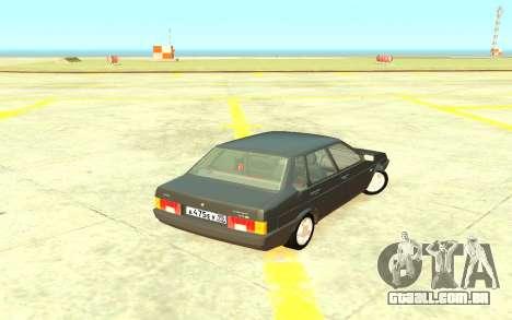 VAZ 21099 de Drenagem para GTA 4