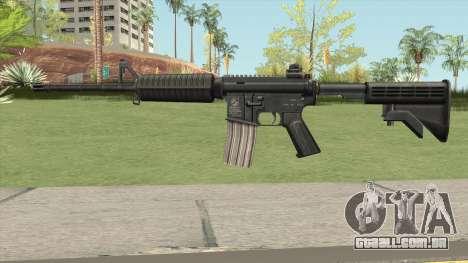 M4A1 HQ Skin GTA IV para GTA San Andreas