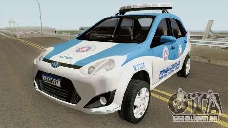 Ford Fiesta Sedan 2010 (Ronda Escolar PMBA) para GTA San Andreas