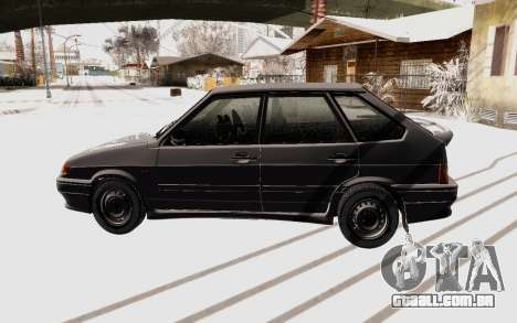 VAZ 2114 de Inverno para GTA San Andreas