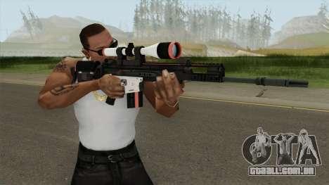 CS-GO SCAR-20 (Cyrex Skin) para GTA San Andreas