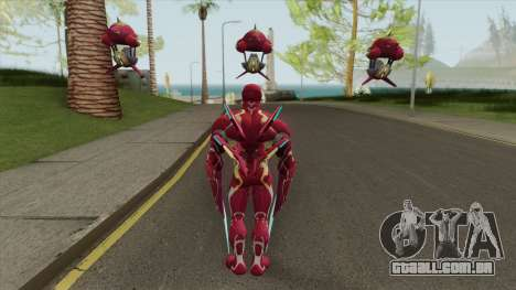 Iron Man Mark S Skin para GTA San Andreas