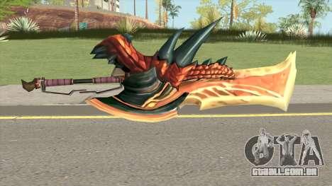 Monster Hunter Weapon V2 para GTA San Andreas