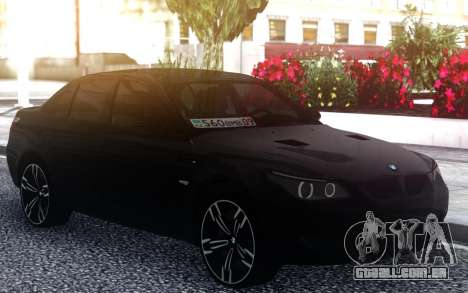 BMW M5 E60 M para GTA San Andreas