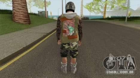 Skin Random 167 (Outfit Gunrunning) para GTA San Andreas