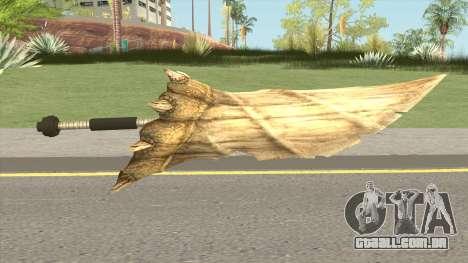 Monster Hunter Weapon V1 para GTA San Andreas