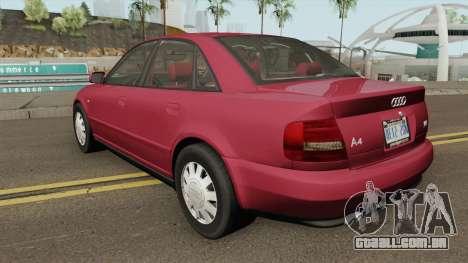 Audi A4 B5 1.8T 1999 (US-Spec) para GTA San Andreas