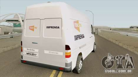 Mercedes-Benz Sprinter NSC TV para GTA San Andreas