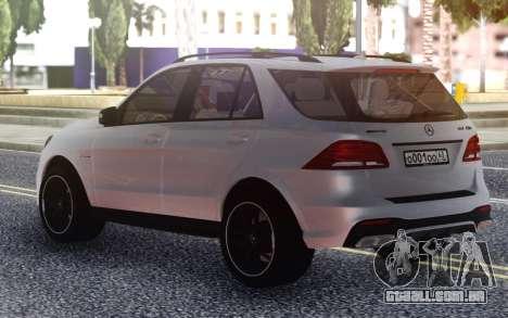 Mercedes-Benz GLE 63s FIX Gray para GTA San Andreas