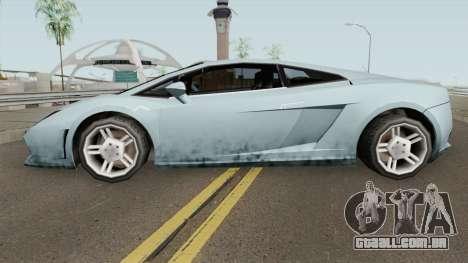 Lamborghini Gallardo SA Style TCGTABR para GTA San Andreas