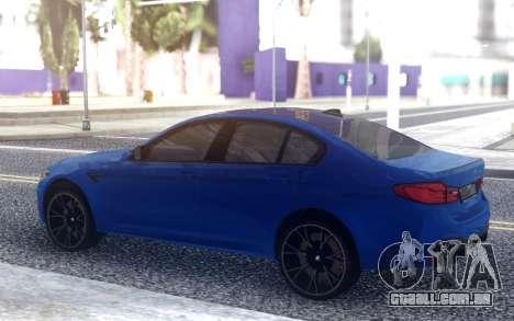BMW M5 F90 Concorrência para GTA San Andreas