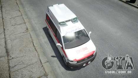 Volkswagen Transporter T5 Amblance para GTA 4
