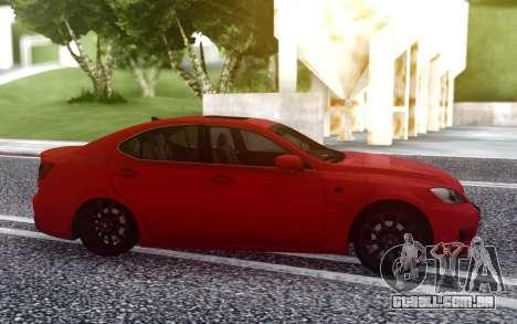 Lexus IS-F 2008-2012 para GTA San Andreas