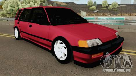 Honda Civic Wagon 1991 para GTA San Andreas