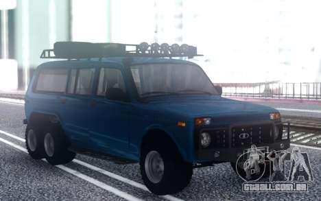 VAZ Niva 6x6 Offroad para GTA San Andreas