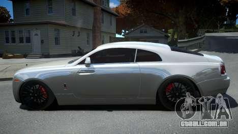Rolls-Royce Wraith para GTA 4