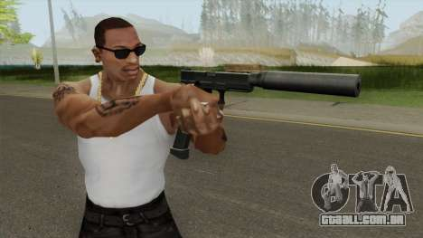 Contract Wars Glock 18 Extended Suppressed para GTA San Andreas