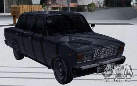 2107 de Inverno para GTA San Andreas