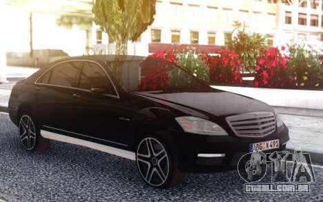 Mercedes-Benz S65 AMG 2012 para GTA San Andreas