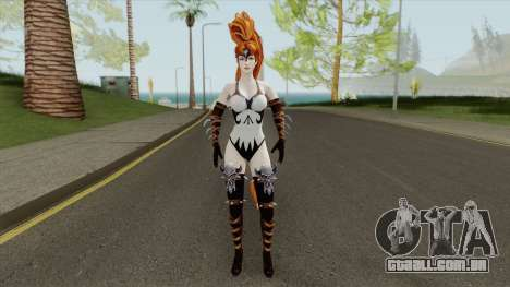 Artemis Requiem From DC Unchained para GTA San Andreas