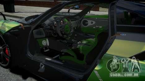 Pagani Huayra BC 2016 para GTA 4
