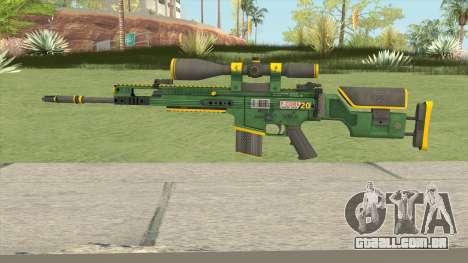 CS-GO SCAR-20 (Powercore Skin) para GTA San Andreas