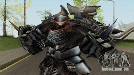 Transformers Slug AOE V1 para GTA San Andreas