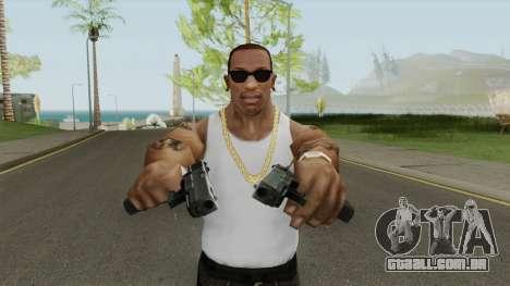 Contract Wars Glock 18 para GTA San Andreas
