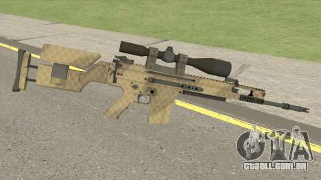 CS-GO SCAR-20 (Sand Skin) para GTA San Andreas