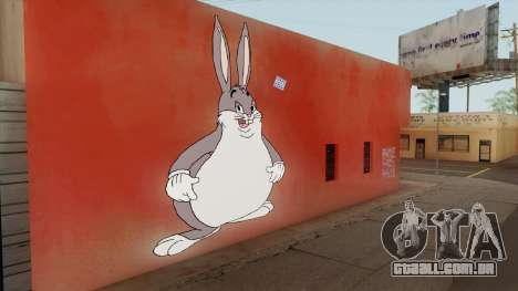 Big Chungus Graffiti para GTA San Andreas