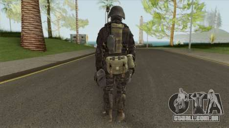 Hunk From RE 2 Remake para GTA San Andreas