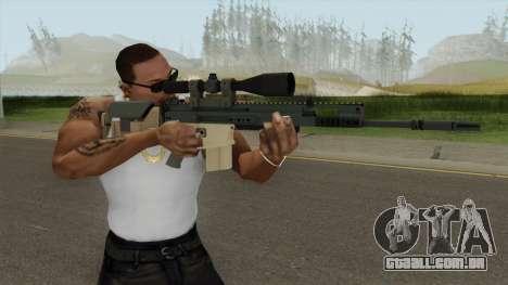 CS-GO SCAR-20 (PMC Skin) para GTA San Andreas