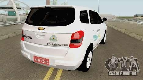 Chevrolet Spin Taxi De Fortaleza para GTA San Andreas
