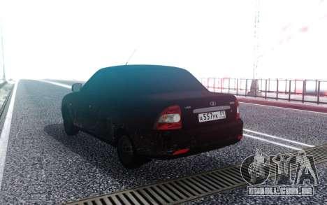 VAZ 2170 Sujo para GTA San Andreas