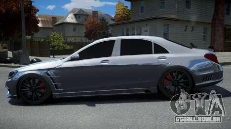 Mersedes-Benz S-Class W222 WALD para GTA 4