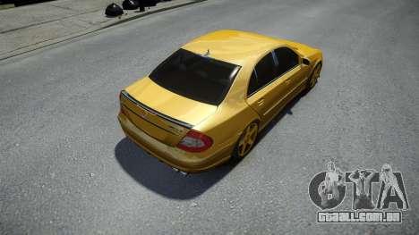 Mercedes-Benz E63 W211 AMG para GTA 4