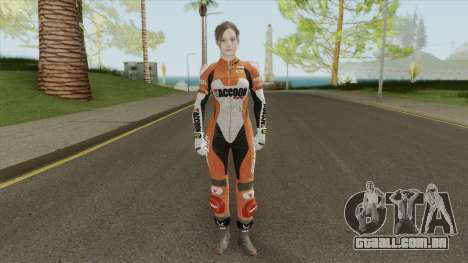 Claire Elza Walker Suit From RE2 Remake para GTA San Andreas