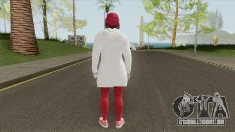 GTA Online Female Skin 1 para GTA San Andreas