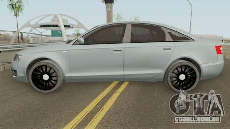 Audi A6 C6 Black Edition para GTA San Andreas