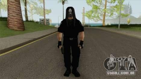Slipknots Mick Thomson para GTA San Andreas