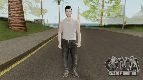 Adam Levine Beta Skin para GTA San Andreas