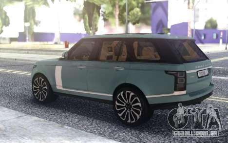 Range Rover SVA para GTA San Andreas
