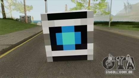 Wheatley Portal 2 Minecraft para GTA San Andreas