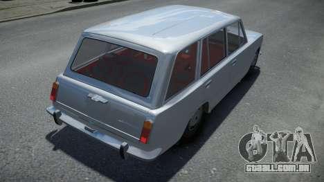 VAZ 2102 de Áudio do carro para GTA 4