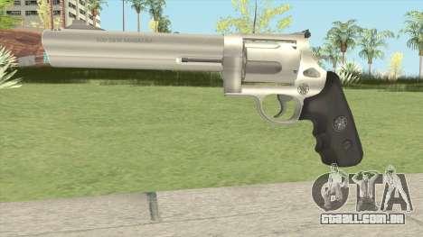 Smith and Wesson Model 500 Revolver Metal para GTA San Andreas